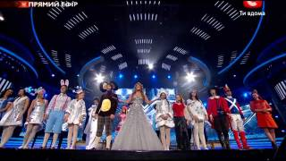 Новогодняя общая песня - X фактор - Гала-концерт - 31 12 2011