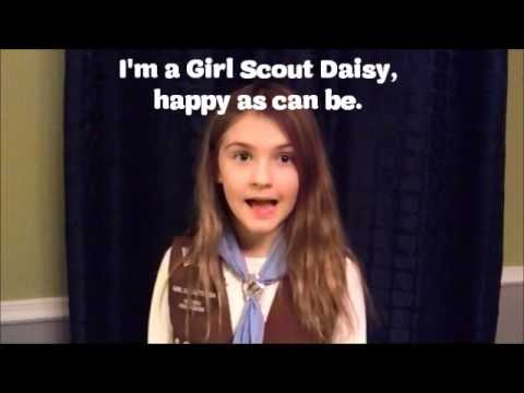 picture regarding Girl Scout Daisy Song Printable referred to as \
