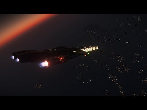 Star Citizen Persistant Universe (3.8.1) Earn Money - Trading Titanium (Arial To Lorville)