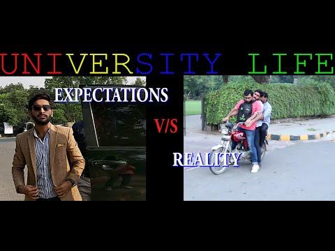 University Life Expectations vs Reality | gair siyasi vines