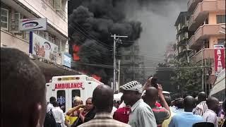 LIVE. Ajari ya moto kariakoo Dar es salaam, hasara kubwa kuteketea kwa godowns