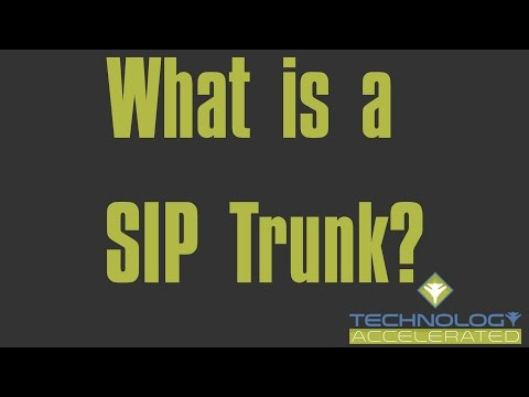 What is a SIP Trunk?