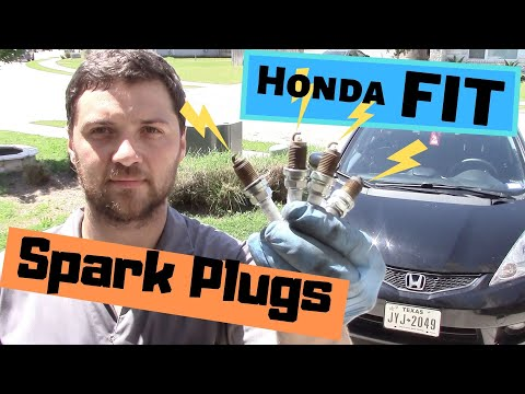 How to replace Spark Plugs on Honda Fit or Jazz 2009-2013 (Fix P0300, P0301, P0302, P0303, P0304)