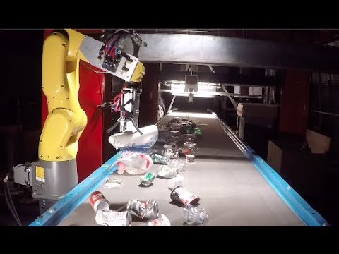 Recycling Robots - Companies Turn To Robots To Help Sort Recyclables \u0026 Waste - Waste Robotics