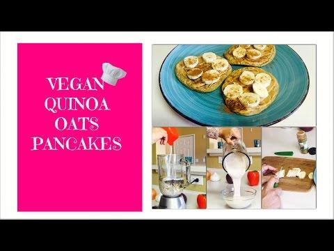 vegan-quinoa-oats-pancakes-♥
