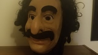CESAR 1976 THE CRITIC MASK UNBOXING