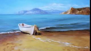 🔝    Морской пейзаж.   Meer Landschaft. Seascape.Painting