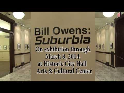Bill Owens Suburbia Gallery Talk- 1911 Historic City Hall Lake Charles