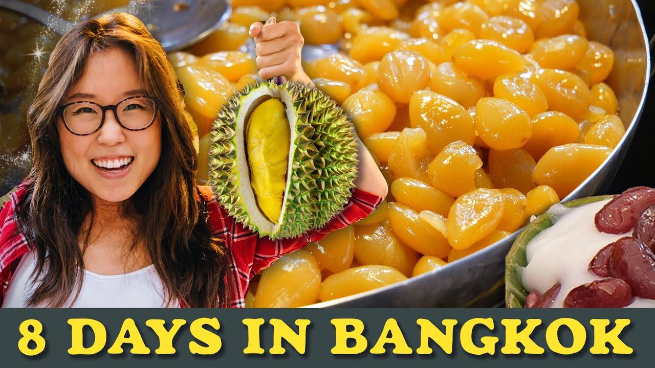 8 DAYS IN BANGKOK 🍣 ft. $12 Thai Lunch Buffet