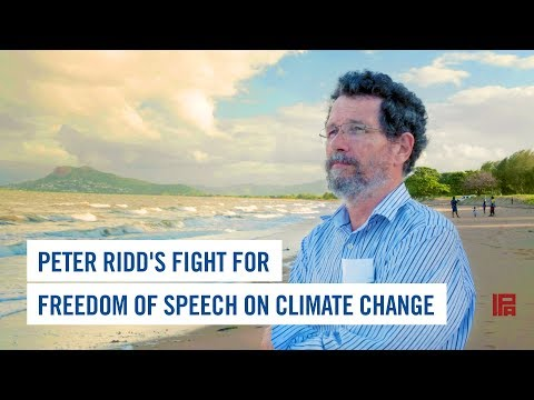 Peter Ridd's Fight for Freedom of Speech on Climate Change
