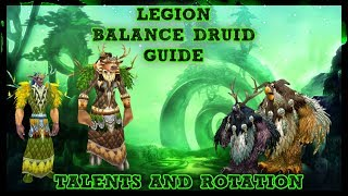 Download lagu Legion Patch 7 3 Balance Druid Talent Rotation Guide MP3