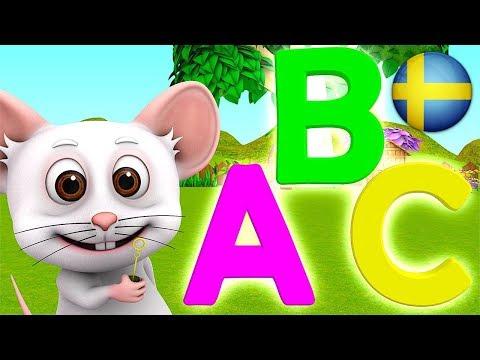 ABC Sången | Svenska Barnsånger |Busigt Lärande |Barnmusik |Förskola Låtar |3D Rim