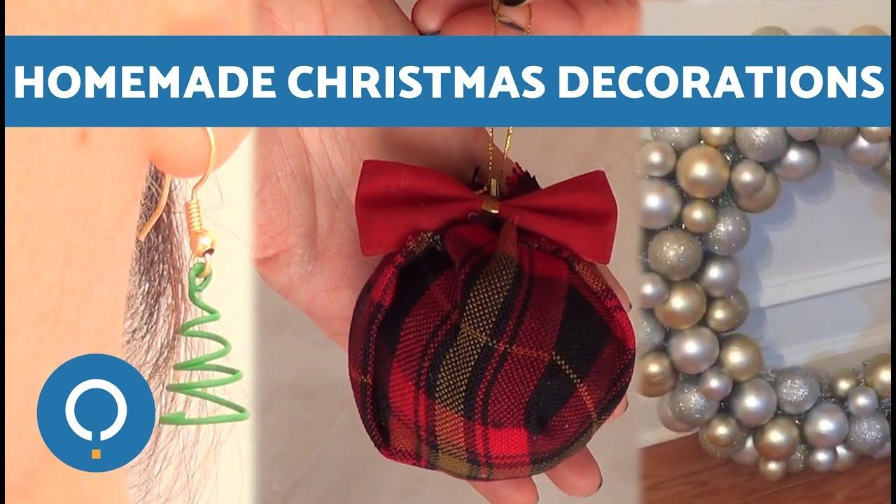 Elegant Handmade Christmas Ornaments.Diy Best Homemade Christmas Decorations