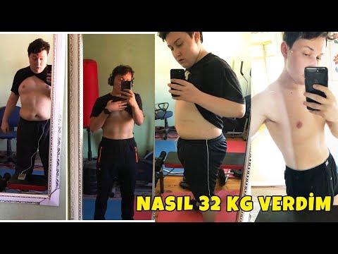 NASIL 32 KG VERDİM! (Motivasyon)