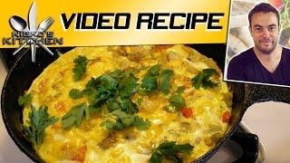 Vegetable Frittata - Video Recipe