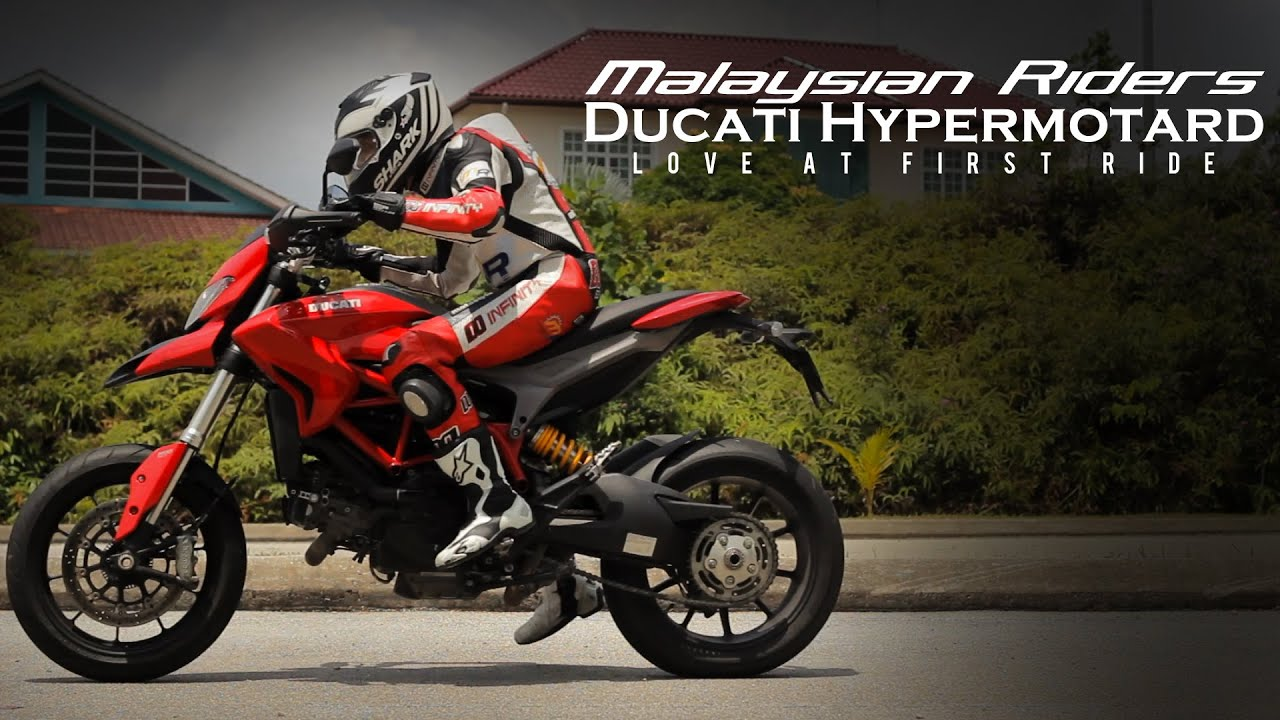 ducati hypermotard: love at first ride -- ep.11 - youtube
