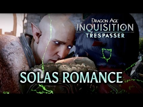 Dragon Age: Inquisition - Trespasser DLC - Solas Romance HUGE SPOILERS