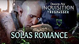 Dragon Age: Inquisition - Trespasser DLC - Solas Romance (HUGE SPOILERS)