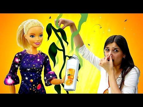 Мультик Барби: Что будет, если полить цветок ШАМПУНЕМ?! Видео для девочек. Ох уж эти куклы!