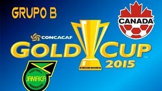 Jamaica vs Canada | simulacion | Grupo B | Copa Oro 2015