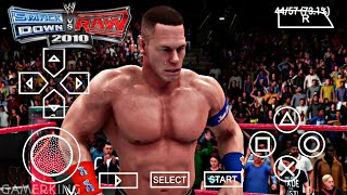 [470MB] WWE SmackDown Vs Raw 2010 PPSSPP Android Download Now | WWE SVR Compressed Android | 2018