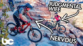 THIS TERRAIN MAKES ME NERVOUS | Riding Horsethief Bench!