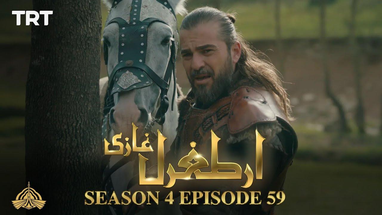 Ertugrul Ghazi Urdu   Episode 59  Season 4
