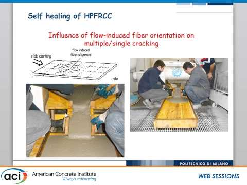 Self-Healing Ultra-High Performance Fiber Reinforced Concrete