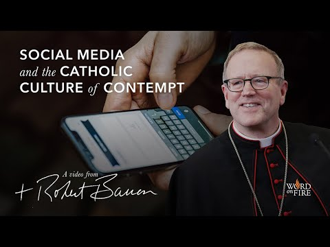 Bishop Barron on Social Media and the Catholic Culture of Contempt