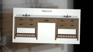 Sagehill Designs Oak Bathroom Vanities - Toby Collection - Modular. Available At Homethangs.com