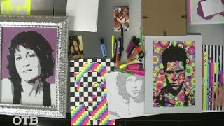 """Рисовать как Уорхол: урок поп-арта в студии """"УТРОтв"""" (09.02.16)"""