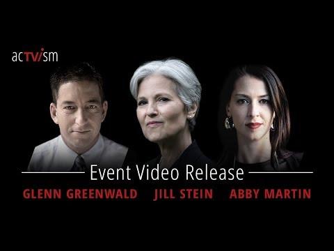 Glenn Greenwald, Jill Stein & Abby Martin Event - Global Issues in Context 2.0 in Munich