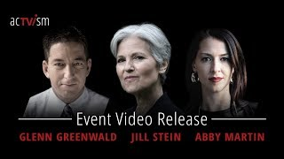 Glenn Greenwald, Jill Stein & Abby Martin Event - Global Issues in Context 2.0 in Munich