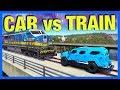 Forza Horizon 3 : 1 BILLION POUND CAR vs TRAIN!!