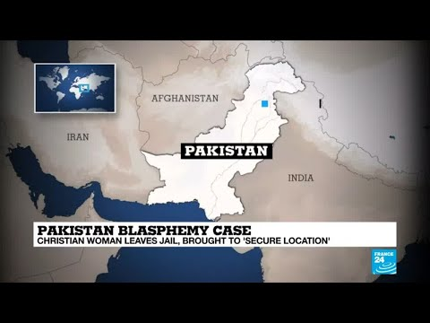 Pakistan blasphemy case: Asia Bibi brought to 'secure location'