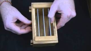 Jail Cell Secret Lock Puzzle Box.wmv