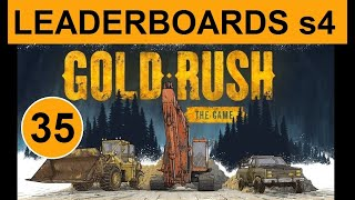 Gold Rush The Game   Leaderboards S 4. 35 Снова быстрая копка и промывка.