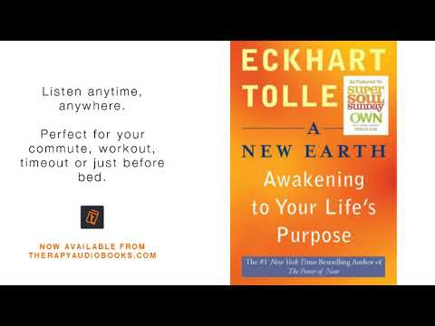 A New Earth Eckhart Tolle | Therapy Audiobooks