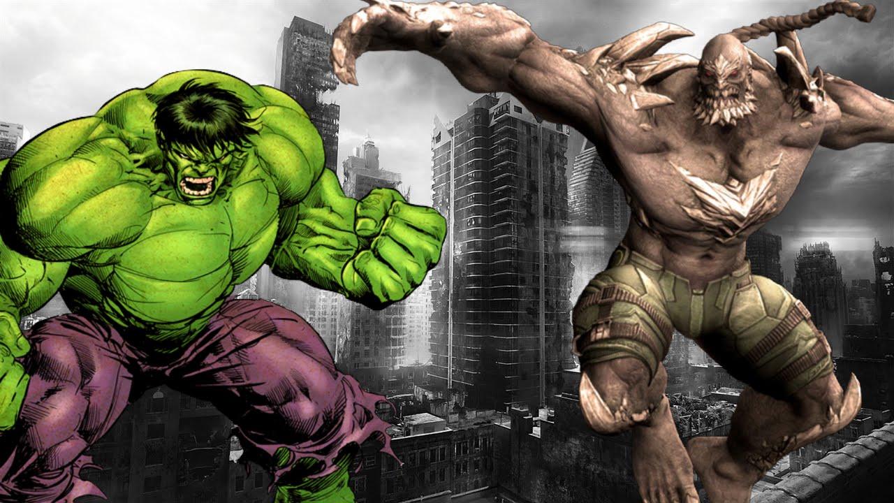 Who Would Win? Hulk vs Doomsday - YouTube Doomsday Vs Hulk Who Wins