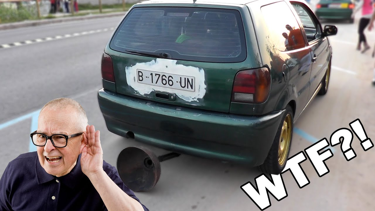 Loud Exhaust Sound Battle Worst Tuning Car Modification