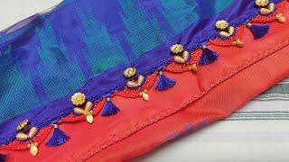 New design grand bridal design with beads(kannada version)