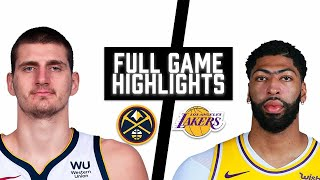 Nuggets vs Lakers HIGHLIGHTS Full Game | NBA May 3