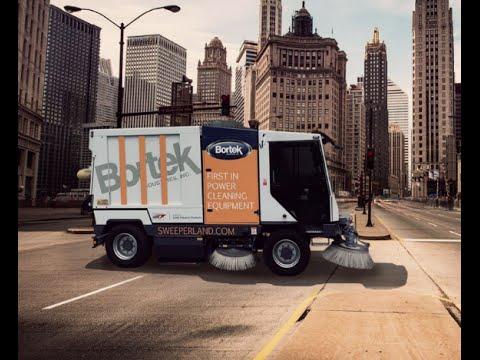 Dulevo 5000 EVOLUTION | Municipal and Severe Environment Street Sweeper | Bortek Industries, Inc.