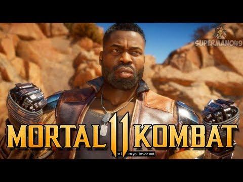 "MORTAL KOMBAT 11: JAX Gameplay, Costumes & Special Moves - Mortal Kombat 11 ""Jax"" Gameplay"