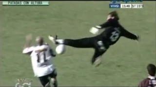 Top 10 Patadas con altura en el fútbol argentino
