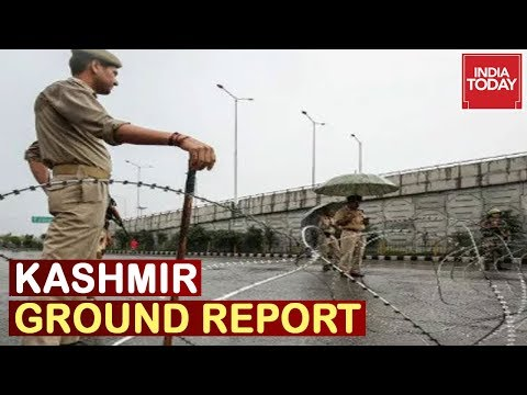 Day 33 Of J&K Shutdown, Curbs Re-Imposed In Some Parts Of