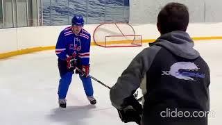 Андрей Аршавин и Владимир Быстров провели хоккейную тренировку 03 01 2020