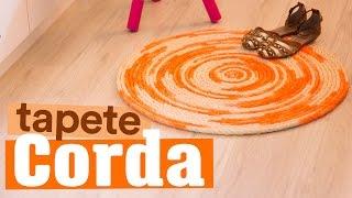 DIY – TAPETE DE CORDA