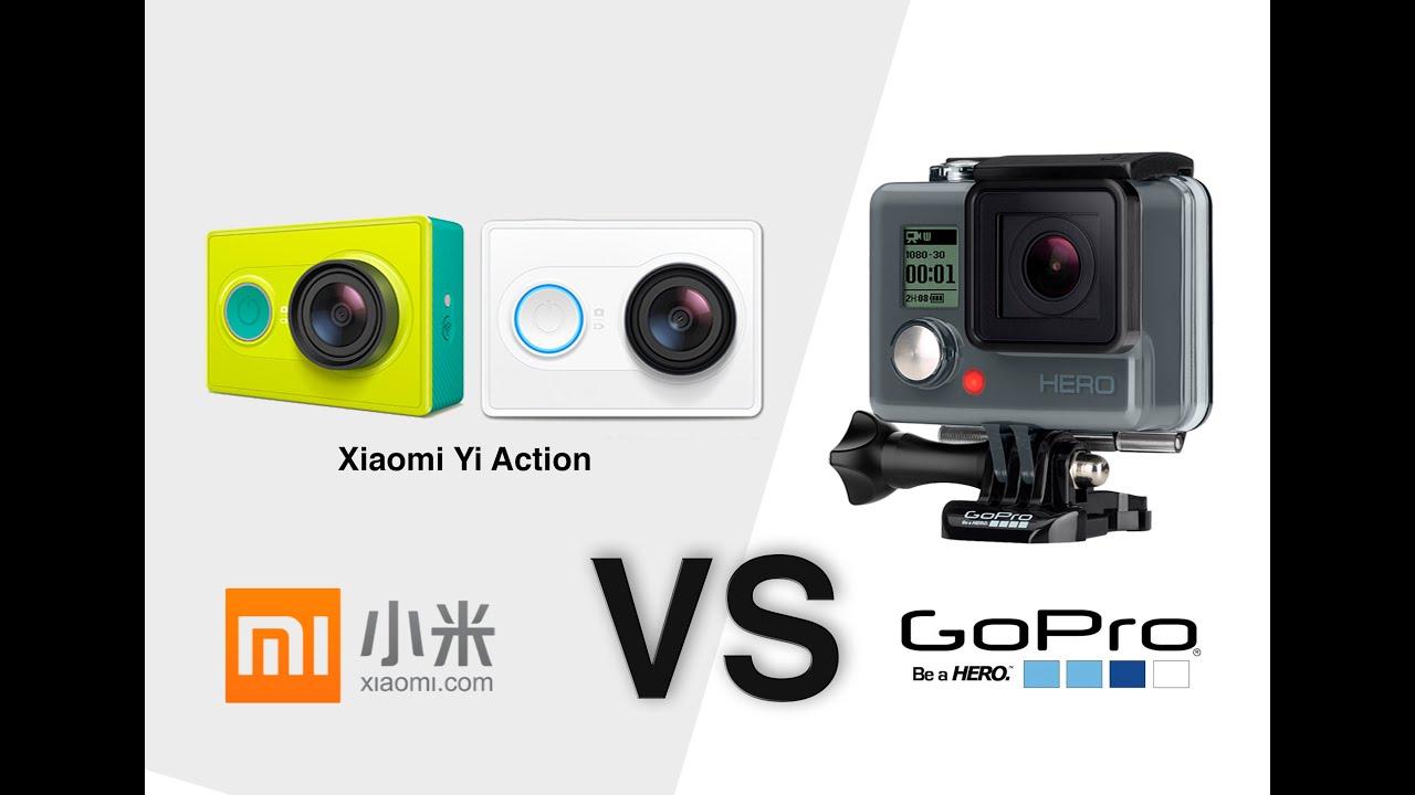 Xiaomi Action Camera Vs Gopro Hero Photo Example