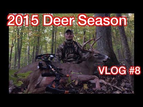 2015 Deer Season...VPO Vlog #8...CNY Buck Down